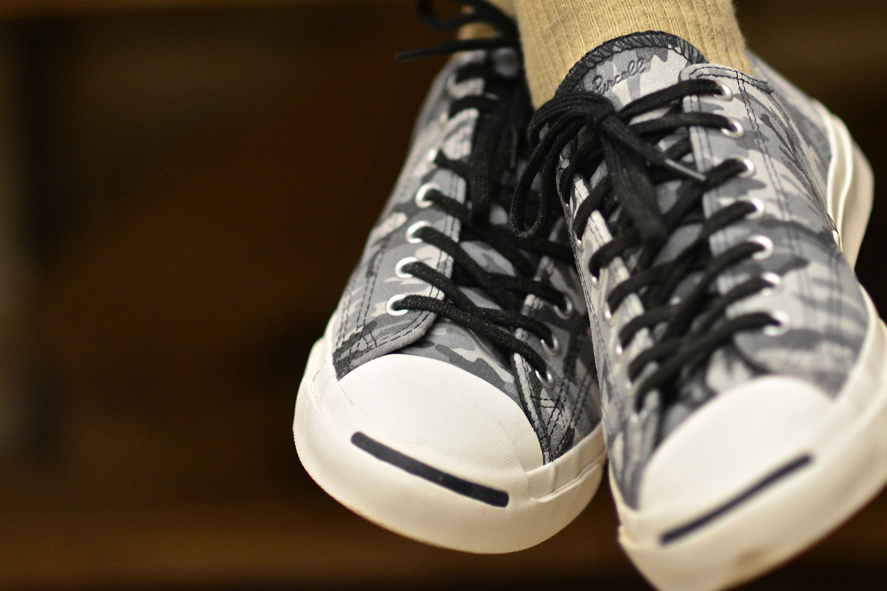 dapper lou presents the converse jack purcell black white