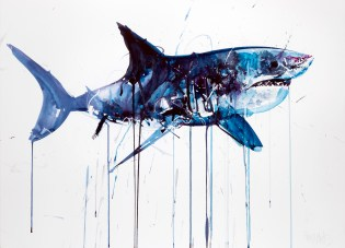 """Dave White """"Aquatic"""" Exhibition @ Lawrence Alkin Gallery"""