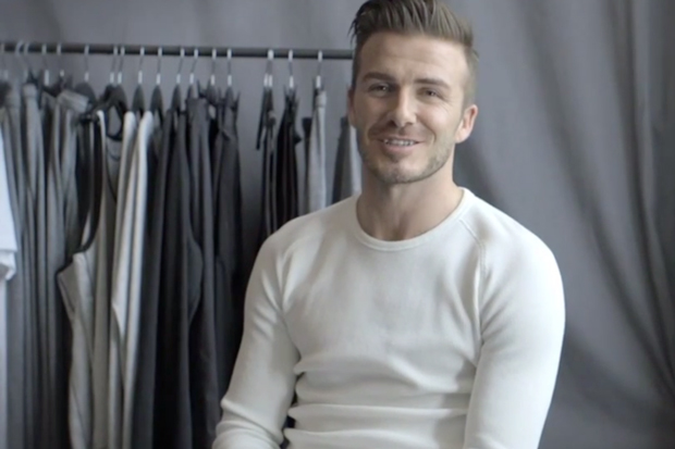 David Beckham Talks About H&M's 2013 Holiday Collection