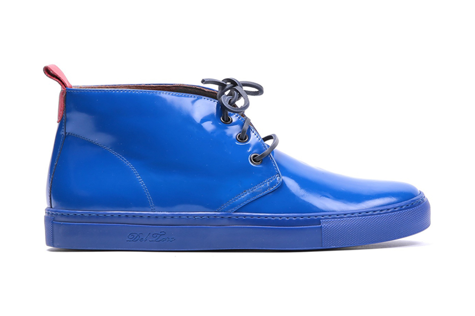 Del Toro Vitello Lucido Leather Alto Chukka