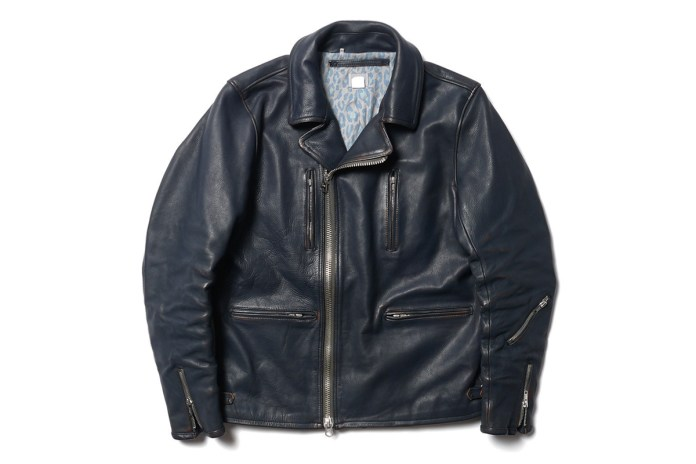 "Deluxe ""Shift Kicker"" Leather Rider Jacket"