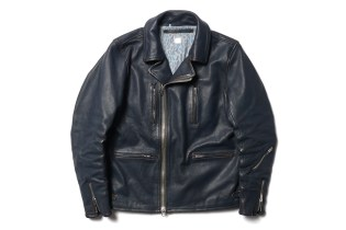 """Deluxe """"Shift Kicker"""" Leather Rider Jacket"""