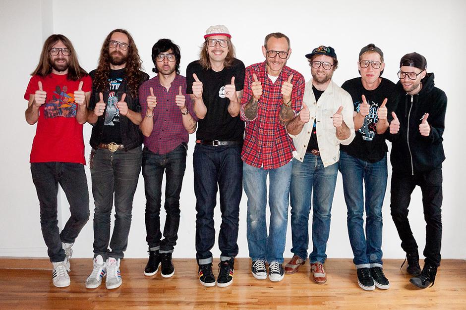 Ed Banger Records Visits Terry Richardson's Studio