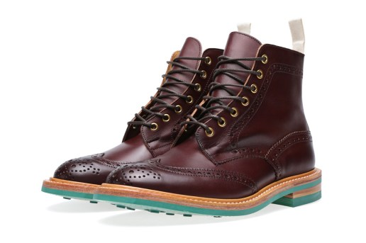 End x Tricker's 2013 Fall/Winter Stow Brogue Boot