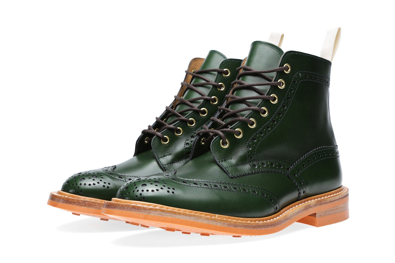 end x trickers 2013 fallwinter stow brogue boot