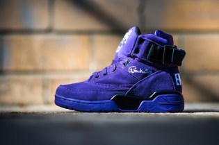 "Ewing Athletics 33 Hi ""Purple Suede"""