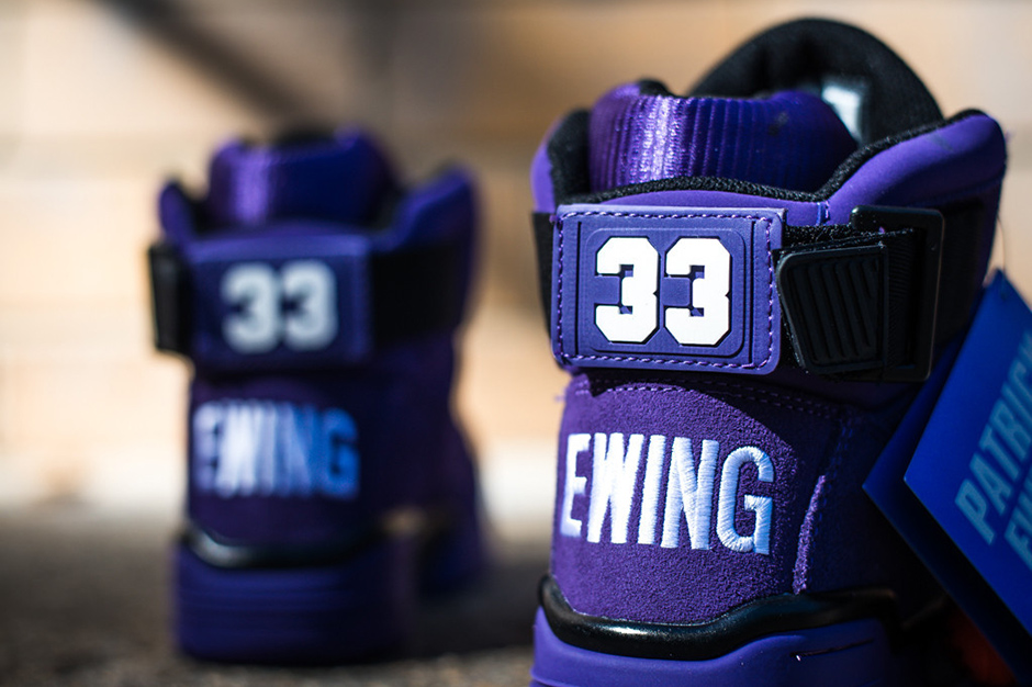 ewing athletics 33 hi purple suede