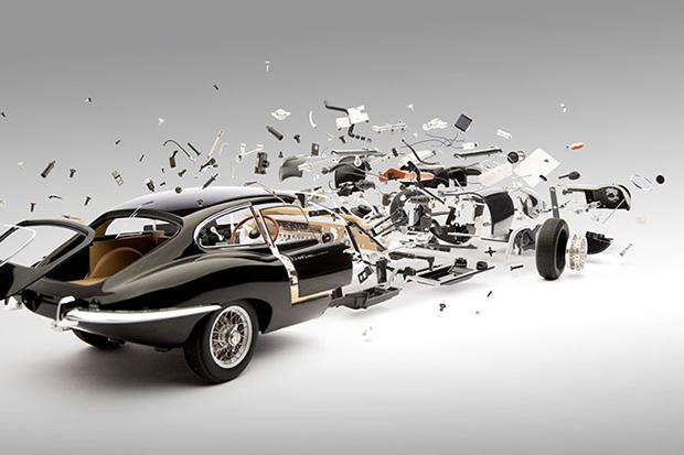 Fabian Oefner Blows Up Classic Sports Cars