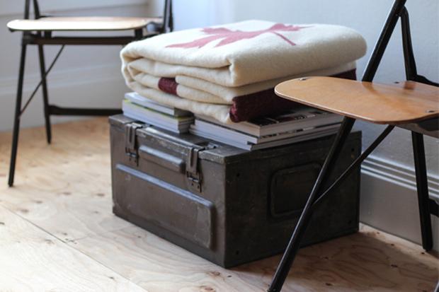 Faribault Woolen Mills for Free Man & Co. Blanket