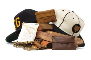 Fielder's Choice Goods Re-purposes Vintage Baseball Gear Into Accessories