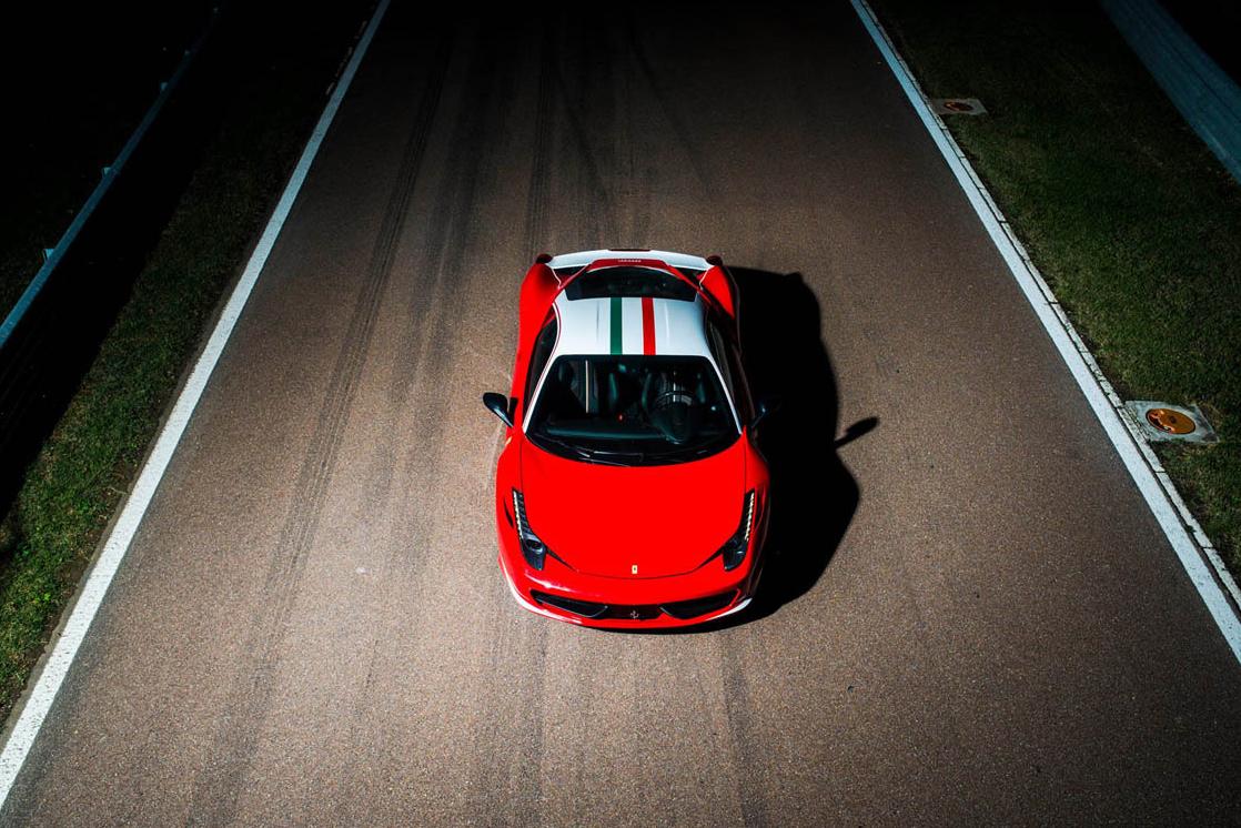 Ferrari 458 Italia Niki Lauda Edition