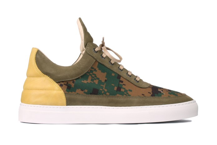 "Filling Pieces Low-Top Trainer ""Digi Camo"""
