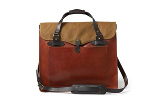 Filson Horween Leather Totes