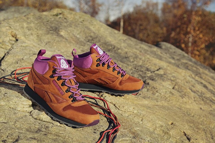 """Foot Patrol x Reebok Classic Leather Mid """"On The Rocks"""" Preview"""
