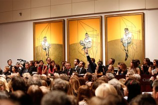 Francis Bacon's 'Three Studies of Lucien Freud' Sells for $142.4 million USD