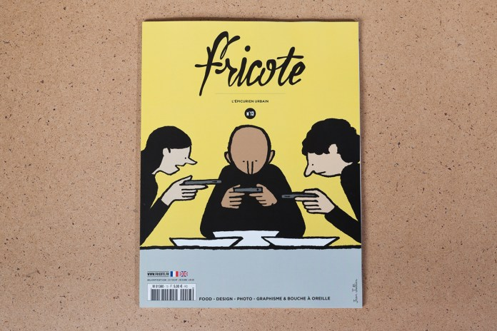 Fricote Issue #13 Features Marc Newson, André, That Food Cray !!!, Yué Wu and Eddie Huang