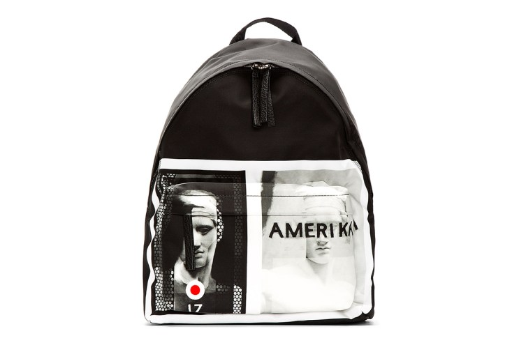 """Givenchy 2013 Fall/Winter """"Amerika"""" Graphic Backpack"""