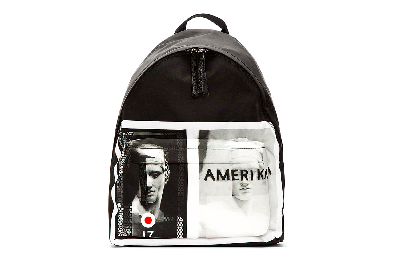 "Givenchy 2013 Fall/Winter ""Amerika"" Graphic Backpack"