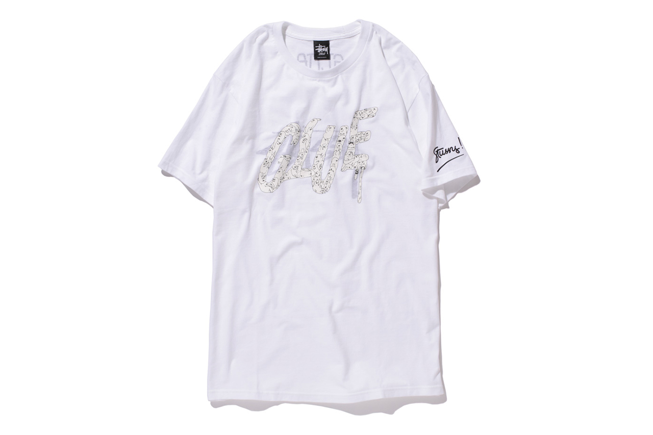 Glue x Stussy Limited Edition T-Shirt