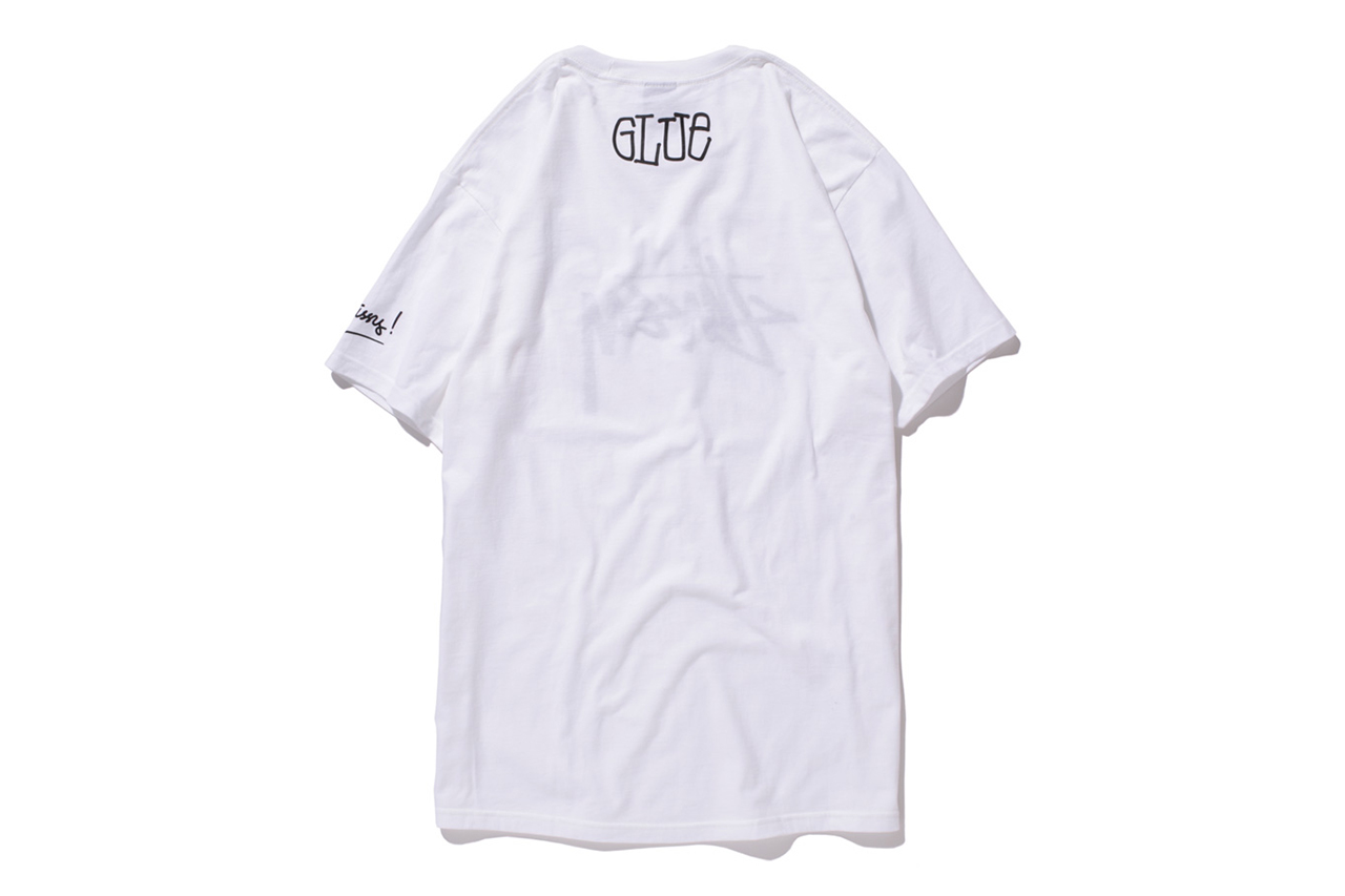 glue x stussy limited edition t shirt