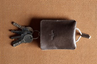 hard graft Draw Key Pouch