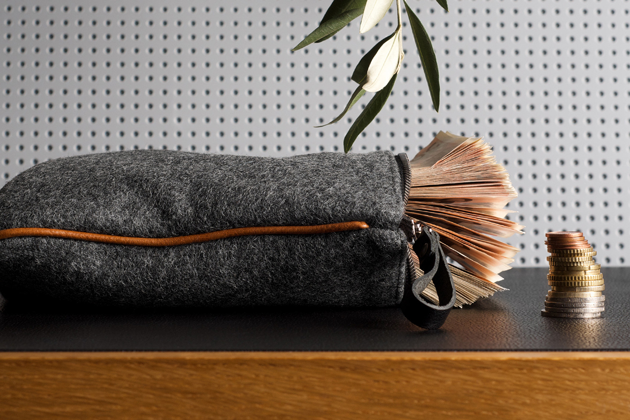 hard graft Small Personal Pouch
