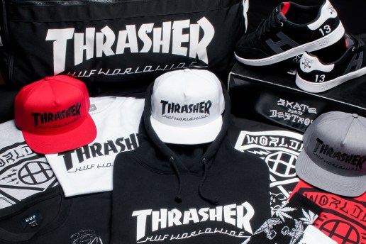 "HUF x Thrasher 2013 ""Stoops Euro Tour"" Collection"
