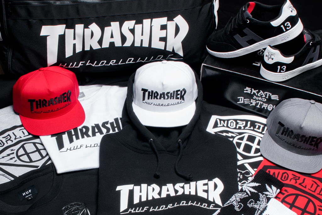 huf x thrasher 2013 stoops euro tour collection