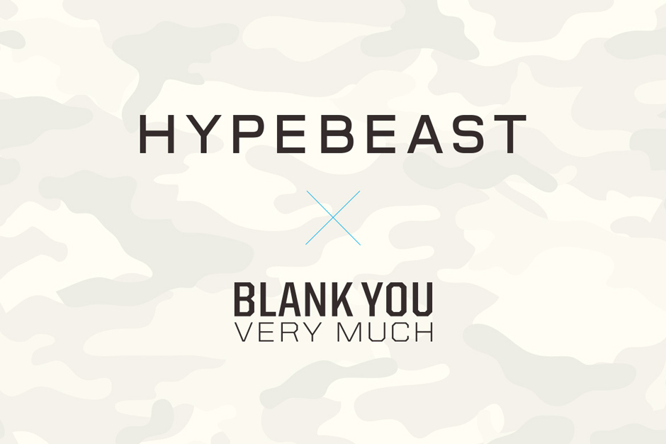 Win $1,500 USD and Have Your Design Featured as Part of the HYPEBEAST x Blank You Very Much T-Shirt Contest