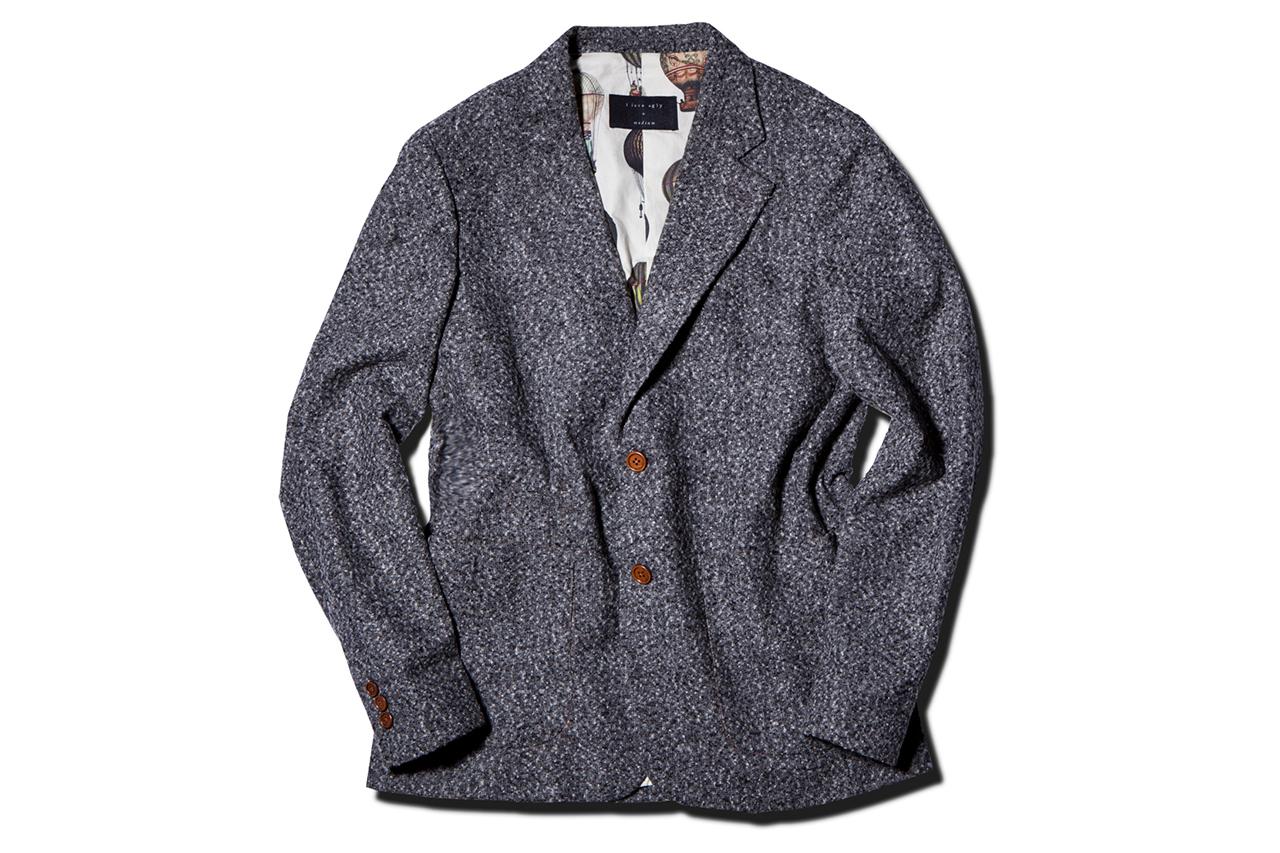 I Love Ugly 2013 Fall/Winter Speckle Grey Blazer