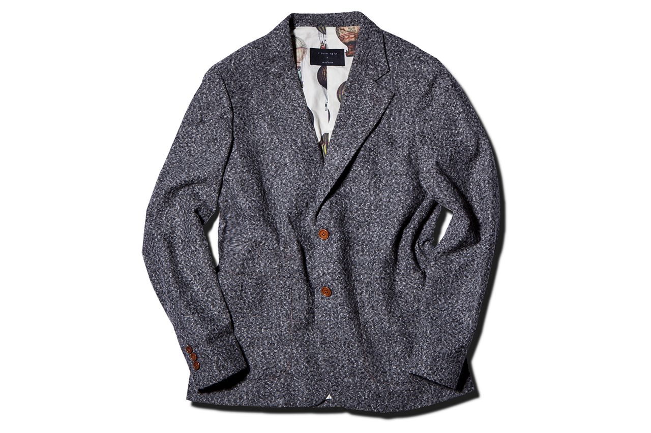 i love ugly 2013 fallwinter speckle grey blazer