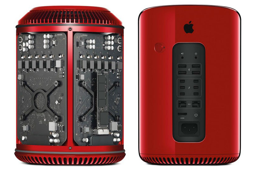 product red mac pro designed by jony ive marc newson sells for nearly 1 million usd