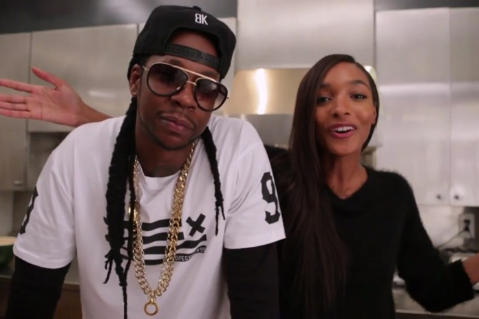 Jourdan Dunn & 2 Chainz Whip Up Some Beer-Steamed Snow Crab Legs