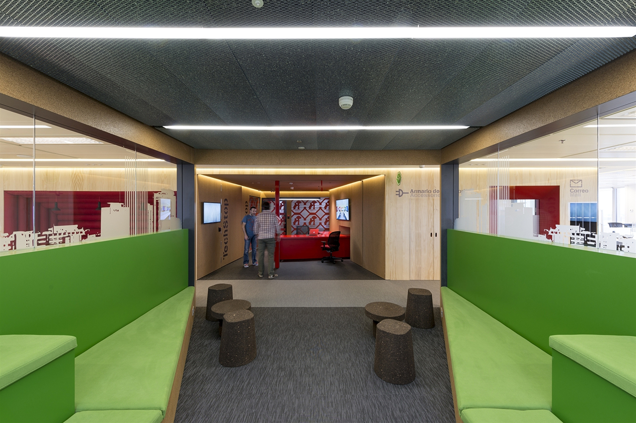 Jump Studios Design the Google Madrid Headquarters