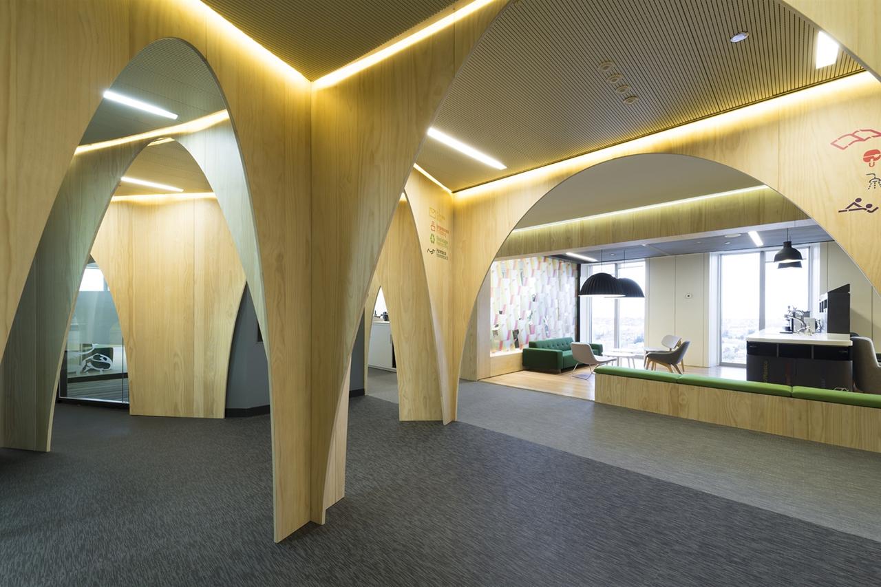 Jump Studios Design the Google Madrid Headquarters
