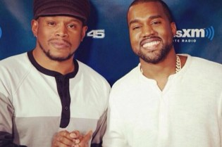 Kanye West Turns Up on Sway During Shade 45 Radio Interview