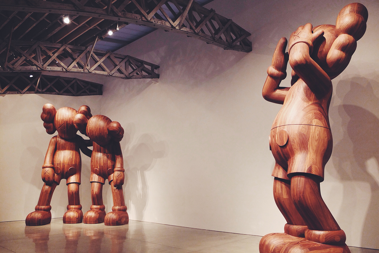 "KAWS ""At This Time"" and ""Along The Way"" Installation @ Mary Boone Gallery"