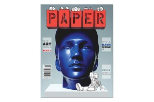 "KAWS Covers the 2013 November ""Art Issue"" of PAPER Magazine"