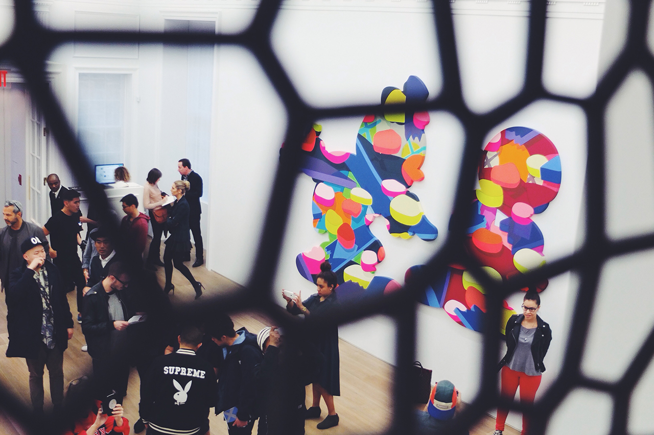 kaws pass the blame galerie perrotin new york recap