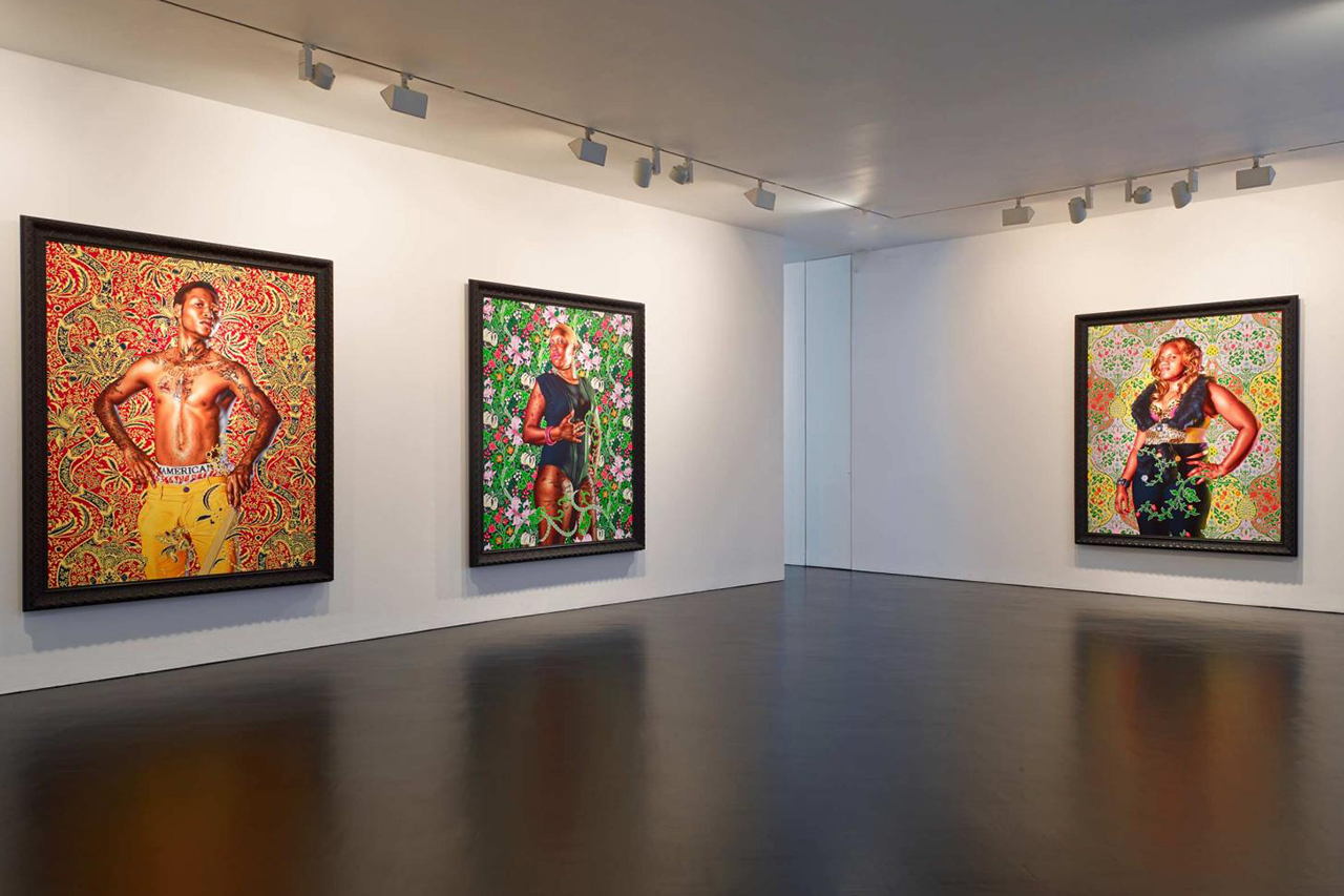 """Kehinde Wiley """"The World Stage: Jamaica"""" Exhibition @ Stephen Friedman Gallery"""