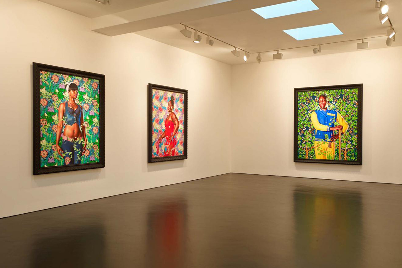 "Kehinde Wiley ""The World Stage: Jamaica"" Exhibition @ Stephen Friedman Gallery"