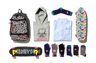 Keith Haring by Kinetics 2013 Fall/Winter Collection