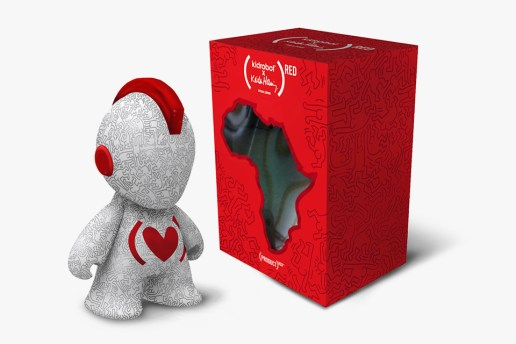 Keith Haring x Kidrobot 2013 (RED) Figure