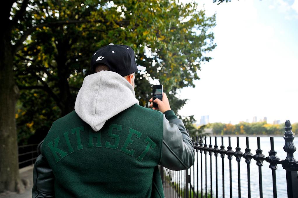 kith x golden bear 2013 fallwinter varsity jacket