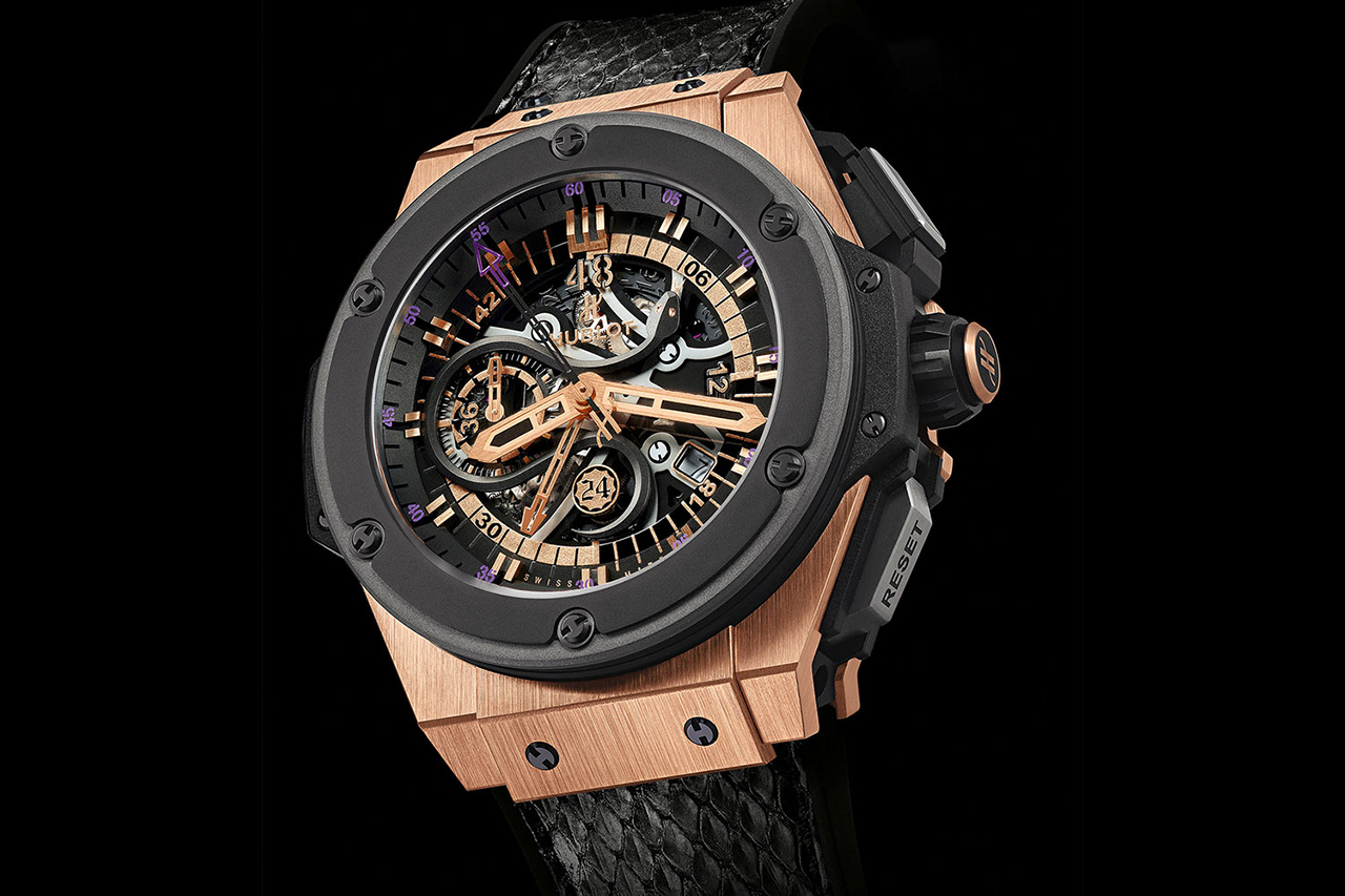 Kobe Bryant x Hublot King Power Black Mamba King Gold