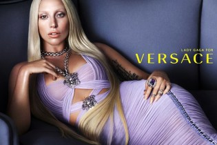 Lady Gaga is the New Face of Versace