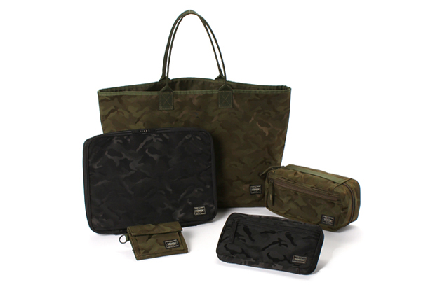 lowercase x porter x edifice wism jacquard camouflage collection