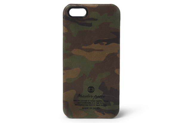 master-piece Camouflage Leather iPhone 5 Case