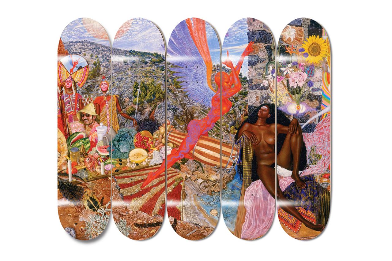 "Mati Klarwein x FTC ""Annunciation"" Deck Series"