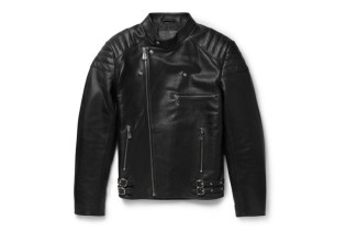 McQ by Alexander McQueen Quilted Leather Biker Jacket